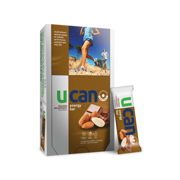 UCAN Chocolate Almond Butter Energy Bars