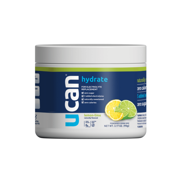 UCAN Hydrate Lemon Lime Electrolyte Drink Jar (1)