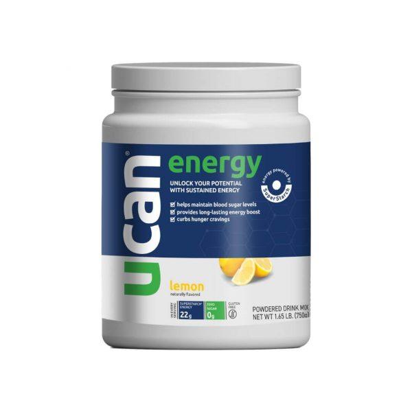 UCAN Lemon Energy Powder Tub