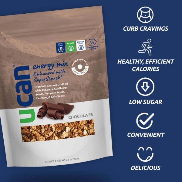 UCAN Premium Chocolate Granola Energy Mix