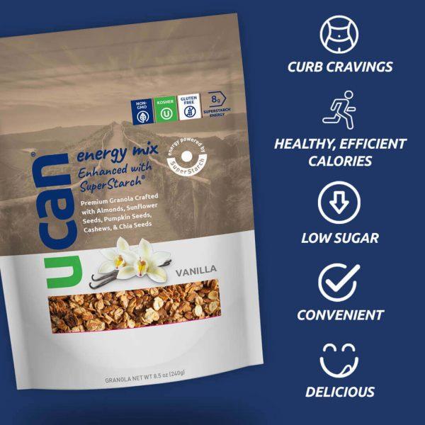 UCAN Premium Vanilla Granola Energy Mix
